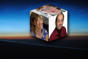 Karen Spafford-Fitz, Marty Chan and Karen Bass - a trio of young adult authors from Alberta