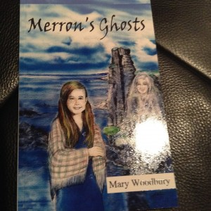I can't talk about Edmonton authors without including something by my dear, late friend and mentor, Mary Woodbury. Merron's Ghosts is the final book that Mary released. I'm sure I'll feel like reading it some day. You might say I'm still in denial about her sudden passing nearly two years ago.