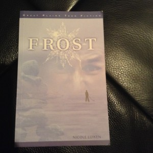 Frost is my favourite book by Nicole Luiken, a long-time Edmontonian. I was captivated by the speculative element and by the characters' northern lifestyle.