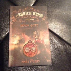 The first book in the Ehrich Weisz series by Marty Chan. The second book in the series soon follows.