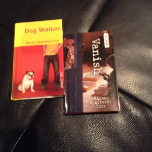 Finally, these are my offerings. Vanish and Dog Walker are both written for 10-14 year-old readers and are set in Edmonton. Although they are geared toward reluctant readers, I am thrilled to learn that they are similarly read and enjoyed by avid readers.