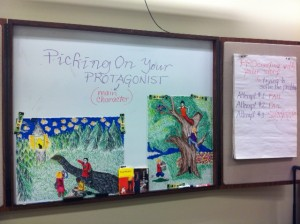 "My session is entitled ""Picking On Your Protagonist."" The students were exceptional at using picture cues and ""Karen's PRO Writing Tips"" to create stories with multiple plot twists. I look forward to hearing more from these budding authors in the future!"