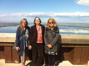 My fellow Wordpower touring artists: Gail de Vos, Hazel Hutchins and Georgia Graham